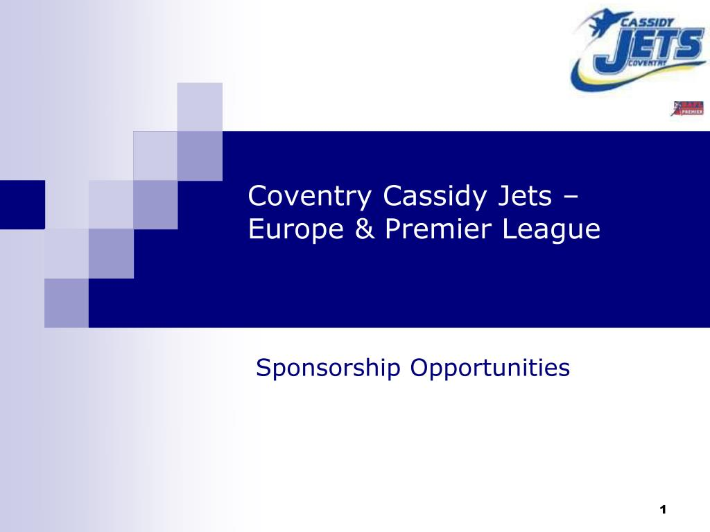 coventry cassidy jets europe premier league
