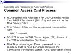 automated data processing for public trust positions common access card process