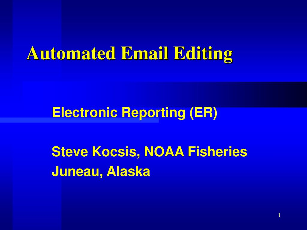 automated email editing l.