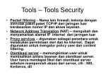 tools tools security