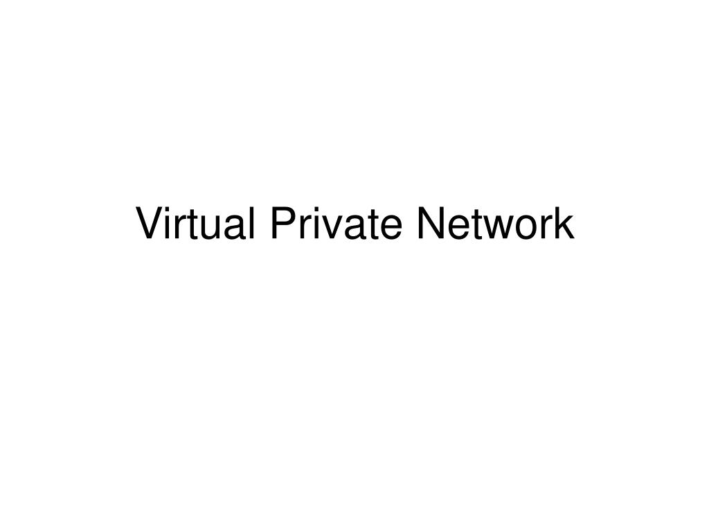 virtual private network l.