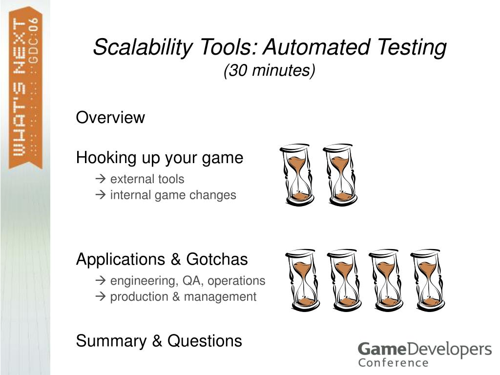 scalability tools automated testing 30 minutes l.