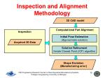 inspection and alignment methodology15