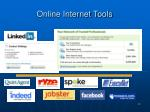 online internet tools
