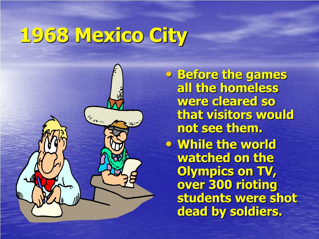 1968 Mexico City