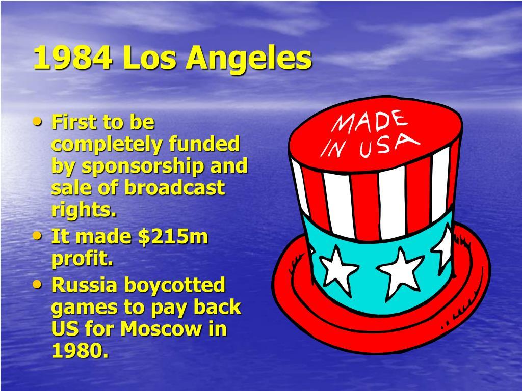 1984 Los Angeles