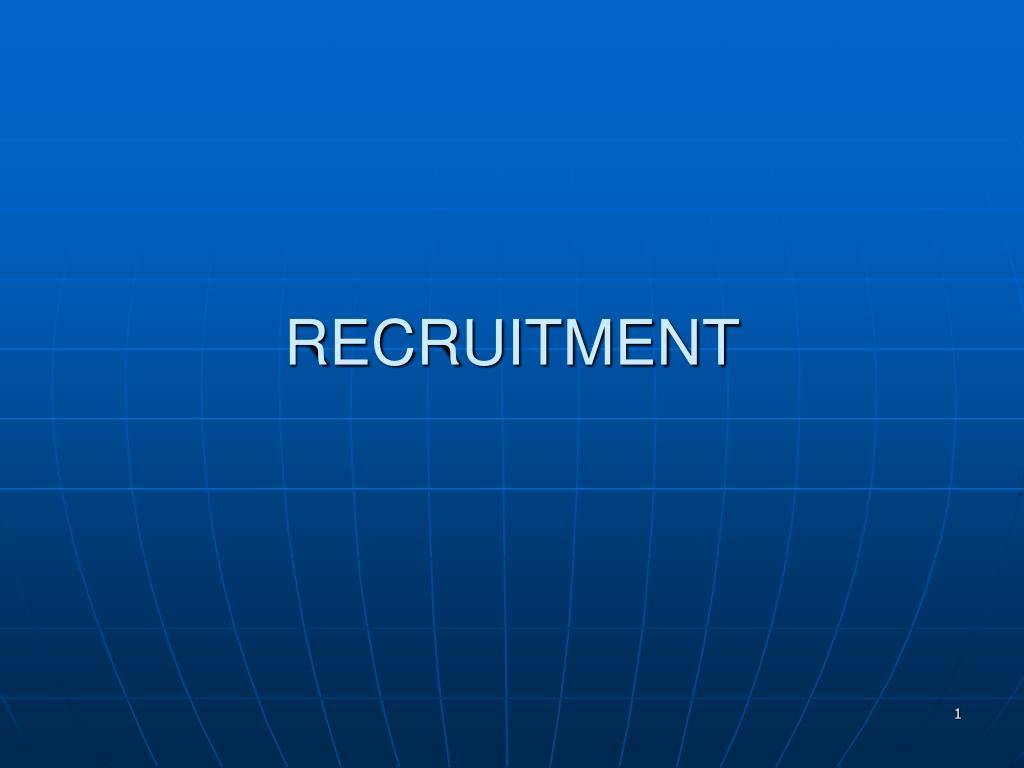recruitment l.