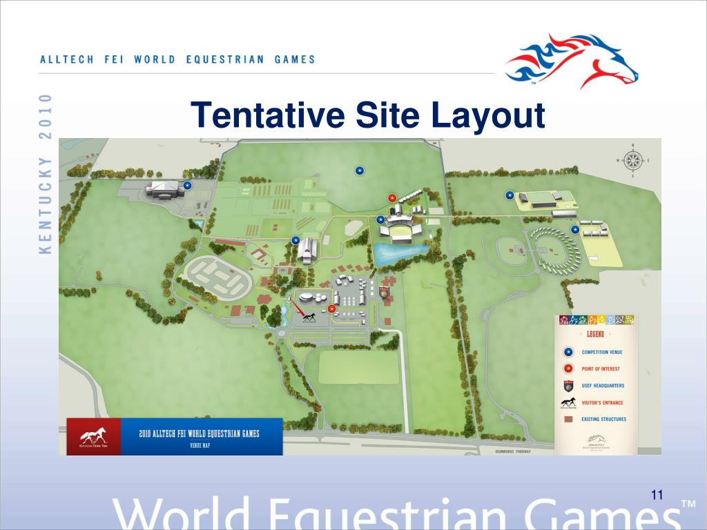 Tentative Site Layout