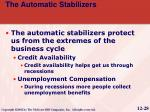 the automatic stabilizers8