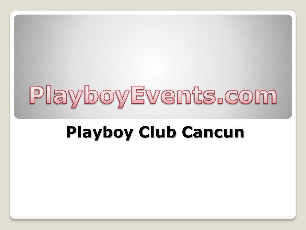 playboy club cancun l.