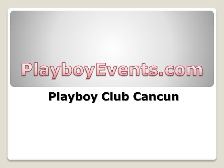 playboy club cancun n.