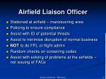 airfield liaison officer