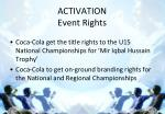 activation event rights
