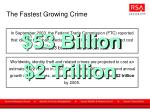 the fastest growing crime