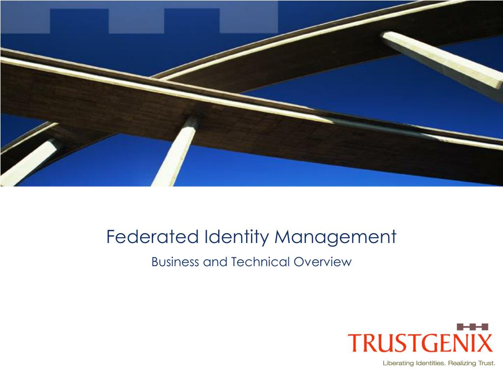 federated identity management l.