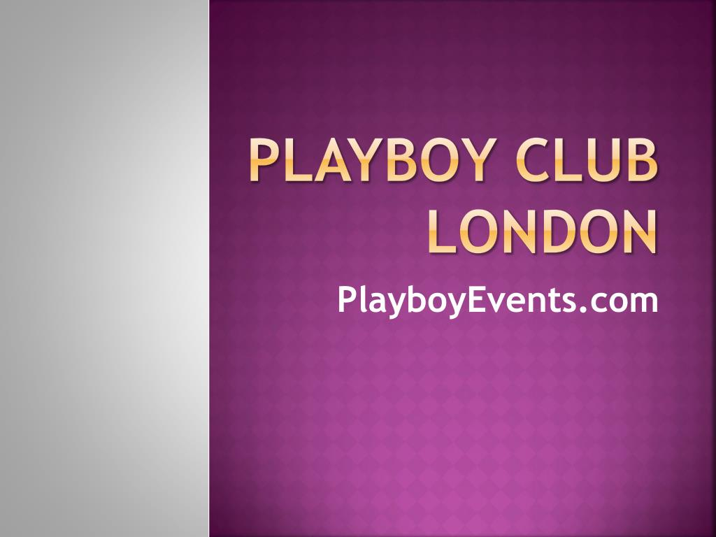 playboy club london l.