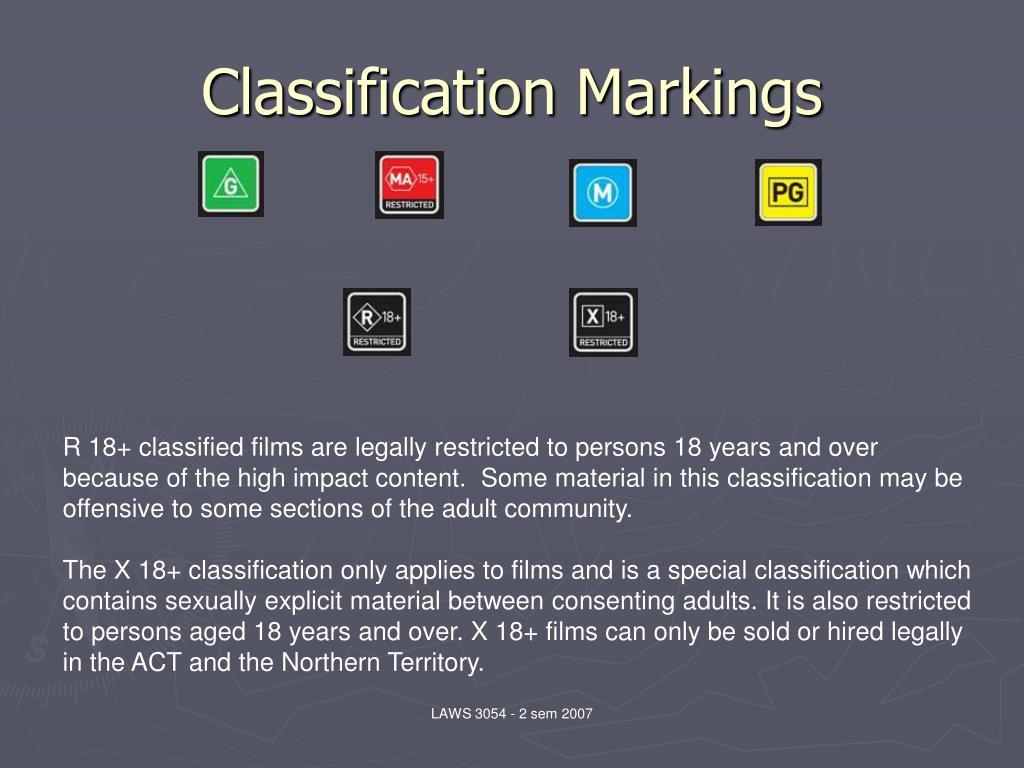 Classification Markings