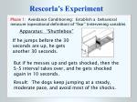 rescorla s experiment4