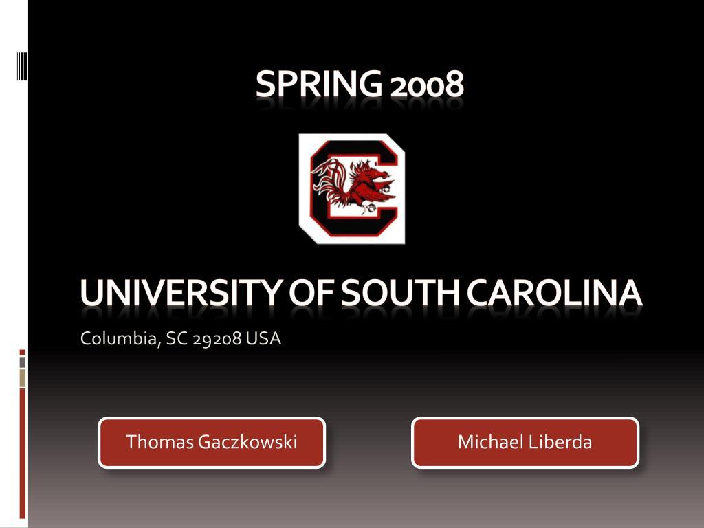 university of south carolina l.