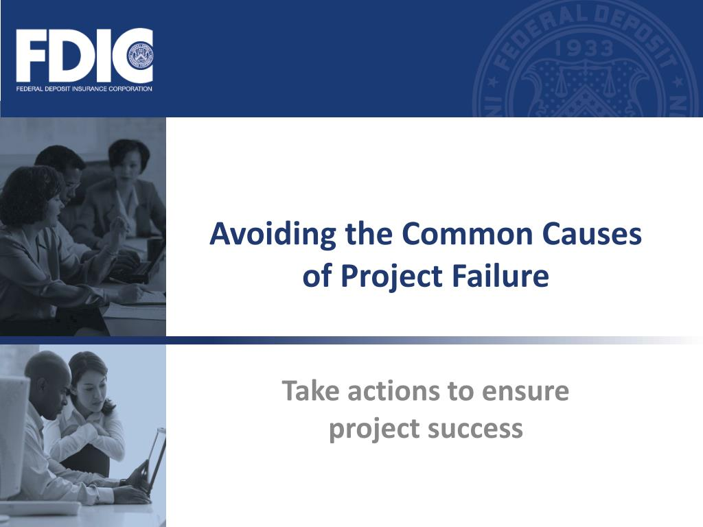 avoiding the common causes of project failure l.