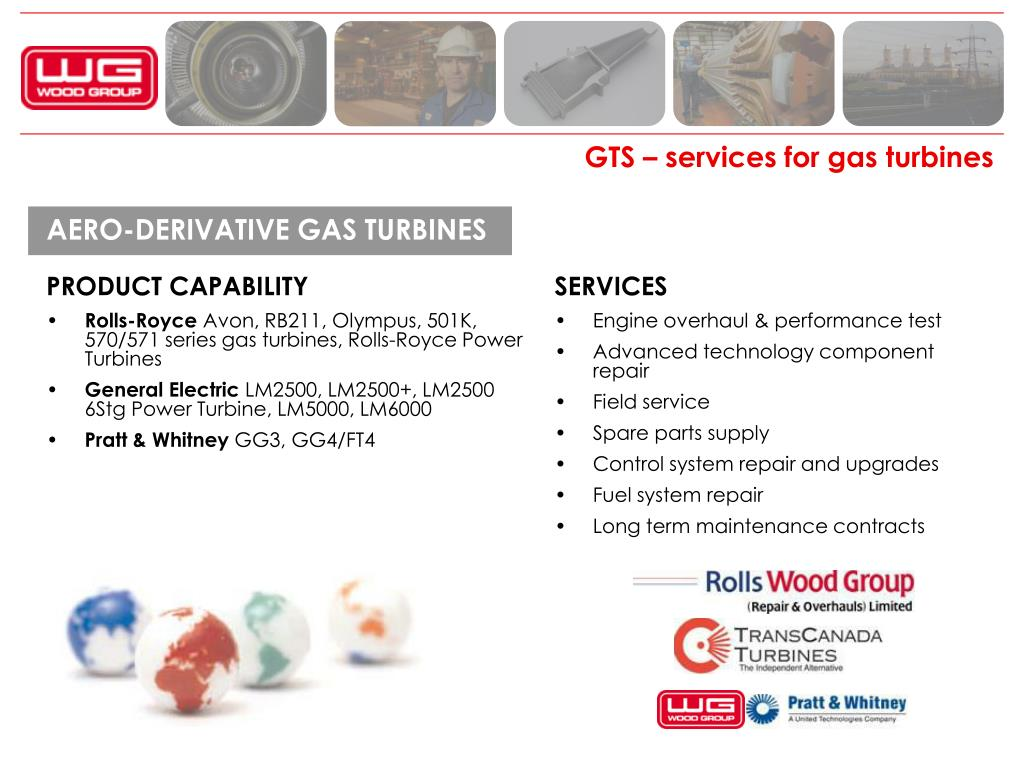 PPT - Wood Group Gas Turbine Services PowerPoint
