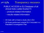 transparency measures30