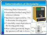 determination of osmolality18