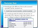 osmolal gap