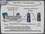 eap ttls the participants