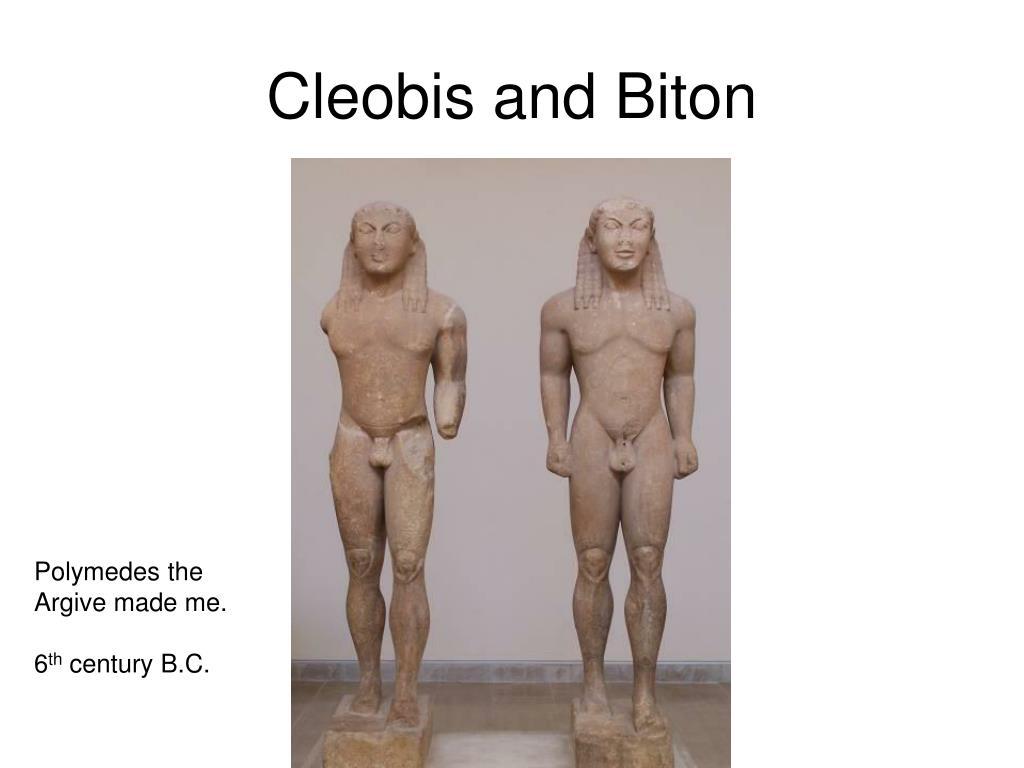 Cleobis and Biton