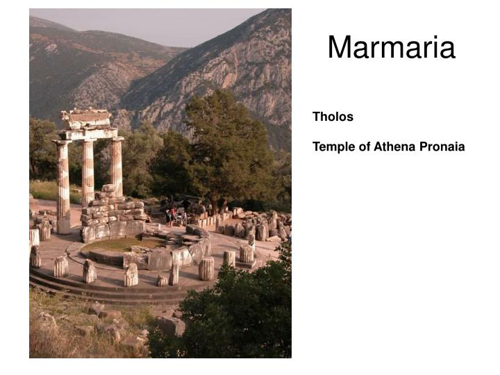 Marmaria