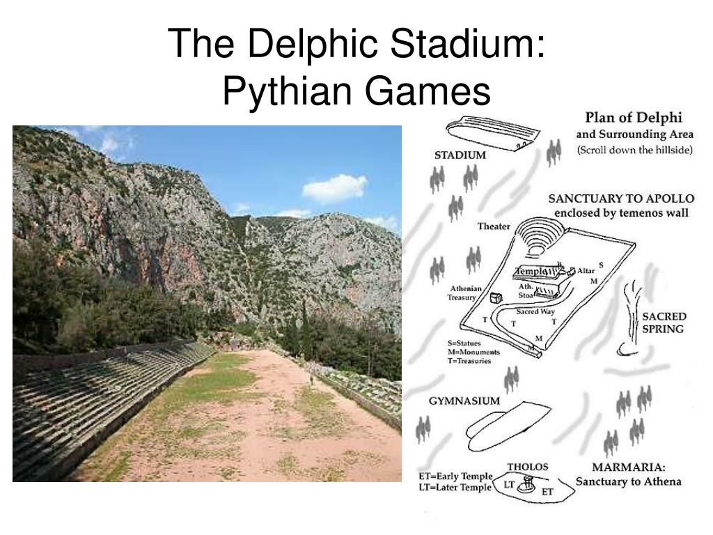 The Delphic Stadium: