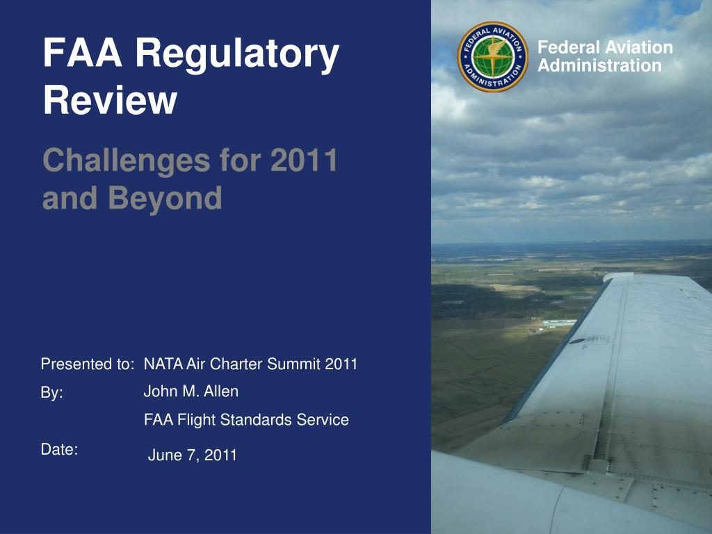 faa regulatory review l.