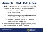 standards flight duty rest12
