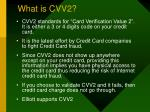 what is cvv2