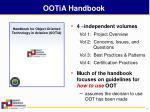 ootia handbook