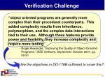 verification challenge
