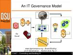 an it governance model