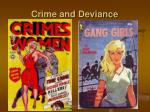 crime and deviance8