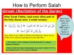 how to perform salah5