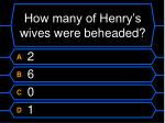 how many of henry s wives were beheaded