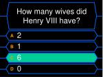 how many wives did henry viii have8