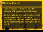 clinical issues