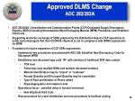 approved dlms change adc 282 282a