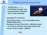 shipping and the environment