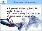 shipping and the environment1