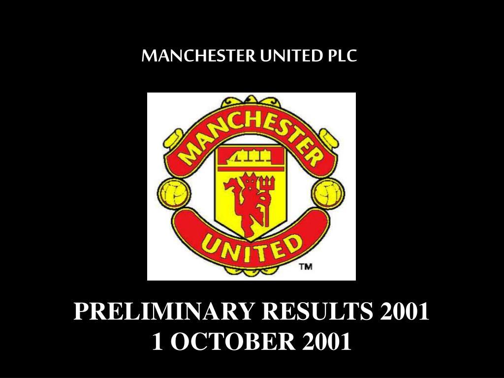 manchester united plc l.