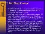 2 port state control