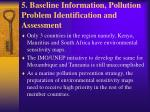 5 baseline information pollution problem identification and assessment