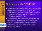 objectives of the spmeesa15